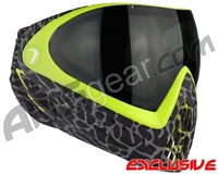 Dye Invision I4 Pro Mask - Skinned Lime w/ Smoke Lens