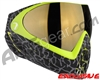 Dye Invision I4 Pro Mask - Skinned Lime w/ Smoke Gold Lens