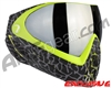 Dye Invision I4 Pro Mask - Skinned Lime w/ Smoke Silver Lens