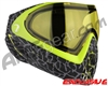 Dye Invision I4 Pro Mask - Skinned Lime w/ Yellow Lens