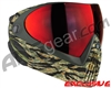 Dye Invision I4 Pro Mask - Tiger Stripe w/ Dyetanium Northern Fire Lens