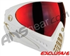 Dye Invision I4 Pro Mask - White/Gold w/ Dyetanium Northern Fire Lens