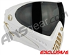 Dye Invision I4 Pro Mask - White/Gold w/ Smoke Lens