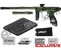 Dye M2 MOSair Paintball Gun - Polished Acid Wash Lime