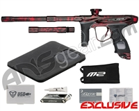 Dye M2 MOSair Paintball Gun - Polished Acid Wash Red