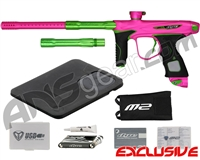 Dye M2 MOSair Paintball Gun - Dust Pink/Lime