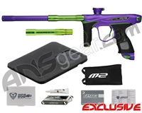 Dye M2 MOSair Paintball Gun - Dust Purple/Lime