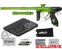 Dye M2 MOSair Paintball Gun - Lime/Black Fade