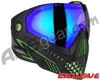 Dye i5 2.0 Paintball Mask - Emerald w/ Dyetanium Blue Ice Lens