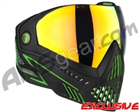 Dye i5 2.0 Paintball Mask - Emerald w/ Dyetanium Bronze Fire Lens