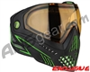 Dye i5 2.0 Paintball Mask - Emerald w/ High Definition Lens