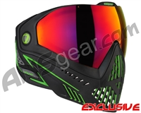 Dye i5 2.0 Paintball Mask - Emerald w/ Dyetanium Prismic Lens