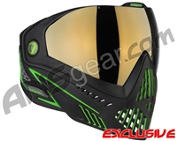 Dye i5 2.0 Paintball Mask - Emerald w/ Smoke Gold Lens