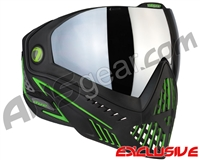 Dye i5 2.0 Paintball Mask - Emerald w/ Smoke Silver Lens