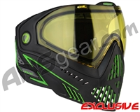 Dye i5 2.0 Paintball Mask - Emerald w/ Yellow Lens