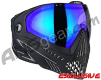 Dye i5 2.0 Paintball Mask - Onyx w/ Dyetanium Blue Ice Lens
