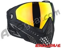 Dye i5 2.0 Paintball Mask - Onyx w/ Dyetanium Bronze Fire Lens