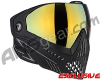 Dye i5 2.0 Paintball Mask - Onyx w/ Dyetanium Faded Bronze Sunrise Lens
