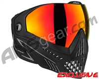 Dye i5 2.0 Paintball Mask - Onyx w/ Dyetanium Northern Fire Lens