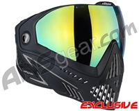 Dye i5 2.0 Paintball Mask - Onyx w/ Dyetanium Northern Lights Lens
