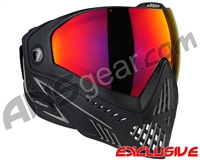 Dye i5 2.0 Paintball Mask - Onyx w/ Dyetanium Prismic Lens