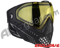 Dye i5 2.0 Paintball Mask - Onyx w/ Yellow Lens