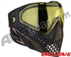 Dye i5 2.0 Paintball Mask - Onyx Gold w/ Yellow Lens