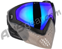 Dye i5 2.0 Paintball Mask - Smoke'd w/ Dyetanium Blue Ice Lens