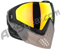 Dye i5 2.0 Paintball Mask - Smoke'd w/ Dyetanium Bronze Fire Lens