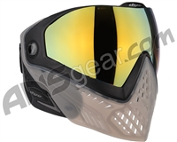 Dye i5 2.0 Paintball Mask - Smoke'd w/ Dyetanium Faded Bronze Sunrise Lens