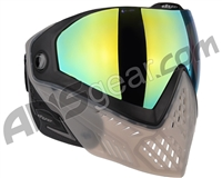 Dye i5 2.0 Paintball Mask - Smoke'd w/ Dyetanium Northern Lights Lens