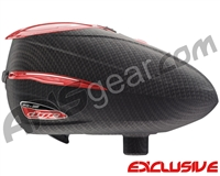 Dye Rotor R2 Paintball Loader - Carbon/Red