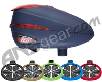 Dye Rotor R2 Paintball Loader With Free R2 Quick Feed - Navy/Red