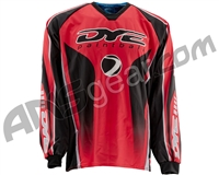 Dye Core Throwback Paintball Jersey - Red