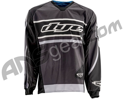 Dye Flow Throwback Paintball Jersey - Grey