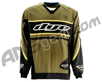 Dye Flow Throwback Paintball Jersey - Olive