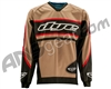 Dye Flow Throwback Paintball Jersey - Tan