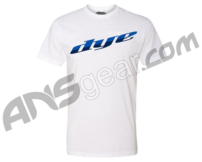 Dye 2018 Split T-Shirt - White/Blue