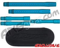 Dye Ultralite Paintball 5pc. Barrel Kit w/ Boom Box - Autococker Threaded - Dust Teal