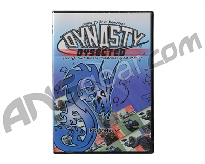 Dynasty Dysected DVD Volume 1 Paintball Movie