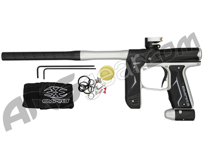 Empire Axe 2.0 Paintball Gun - Dust Black/Dust Silver