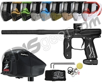 Empire Axe 2.0, EVS & Z2 Package Kit - Dust Black/Dust Black