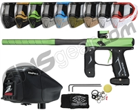 Empire Axe 2.0, EVS & Z2 Package Kit - Dust Black/Dust Olive