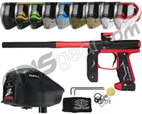 Empire Axe 2.0, EVS & Z2 Package Kit - Dust Red/Dust Black