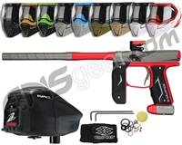 Empire Axe 2.0, EVS & Z2 Package Kit - Dust Red/Dust Grey