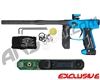 Empire Axe 2.0 Paintball Gun w/ FREE Redline OLED Upgrade Board - Fade Dust Black/Dust Teal