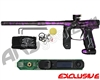 Empire Axe 2.0 Paintball Gun w/ FREE Redline OLED Upgrade Board - Polished Acid Wash Purple