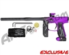 Empire Axe 2.0 Paintball Gun - Fade Dust Black/Electric Purple