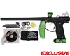 Empire Axe Paintball Gun w/ Inception Designs FLE Body Kit - Green