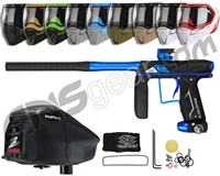 Empire Axe Pro, EVS & Z2 Package Kit - Dust Black/Polished Blue